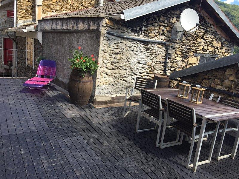 Beautiful terrace perfect for relaxing