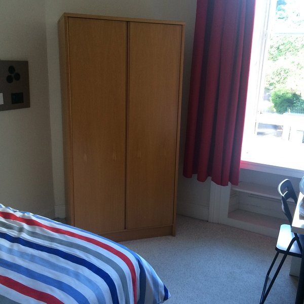 Double bedroom. there is also a chest of drawers