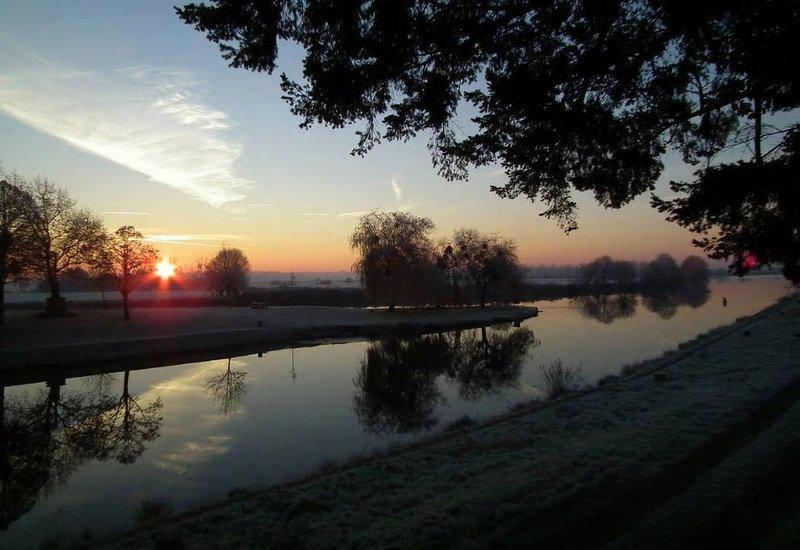 """The river """"Vilaine"""""""