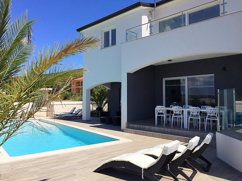 Villa White Gem Viskovici Labin Istria, Croatia, holiday rental in Viskovici