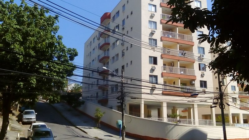 Apartamento Novo,Perto da Vila Olímpica e da Barra, aluguéis de temporada em Nova Iguaçu