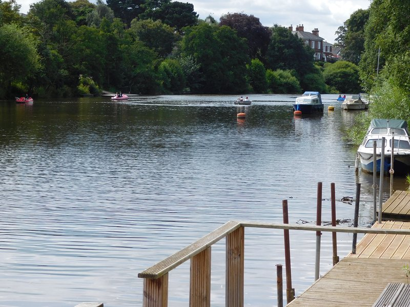 'Rondeva's' Private Moorings on The River Dee.