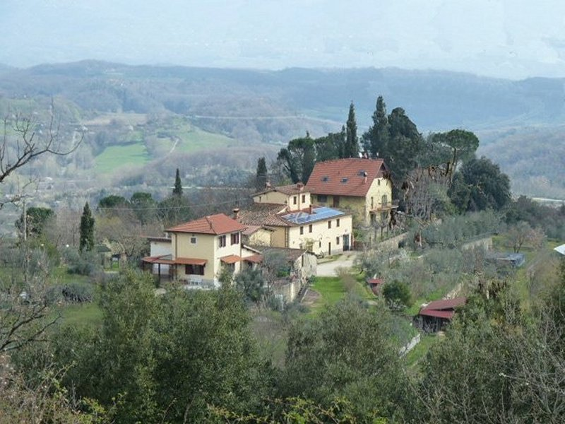 View of the village of Castel de Rossi with Tancherina foreground