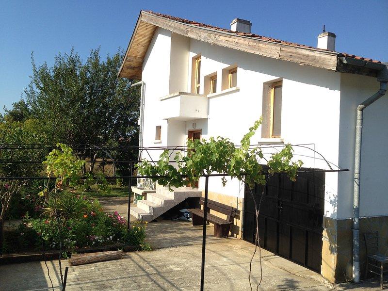 Front of Villa Kalovo