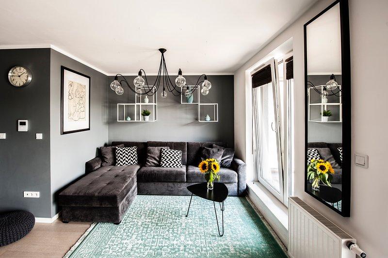 Stylish apartment in Podgórze, location de vacances à Cracovie