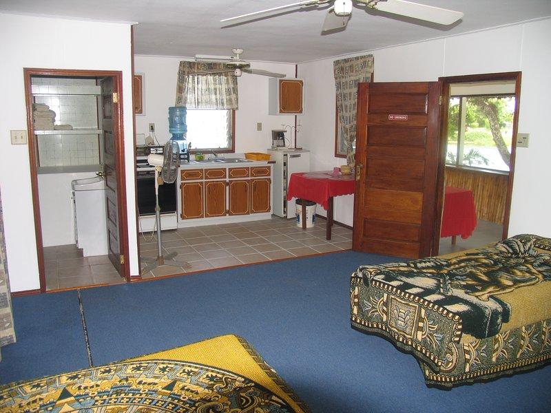 Cabana 2 Bathroom and Kitchen