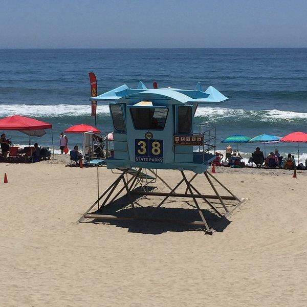 plage Tamarack - l'une des meilleures plages de surf à San Diego
