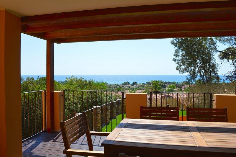 Veranda and seaview