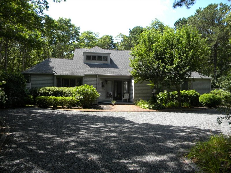 Contemporary House in Little Neck Bay in New Seabury awaits you!