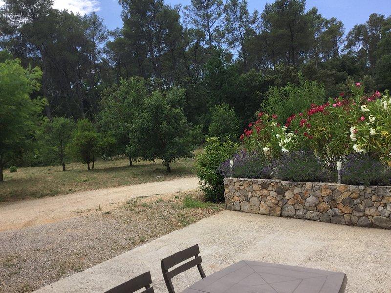 charmant T2 dans village varois / site inoubliable, location de vacances à Lorgues