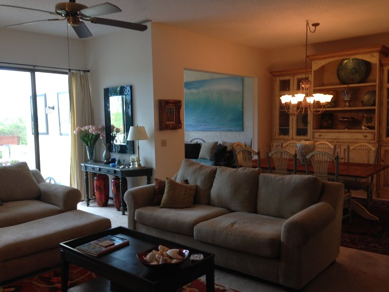 2+ bedroom condo Sawgrass Country Club near beach, holiday rental in Ponte Vedra Beach