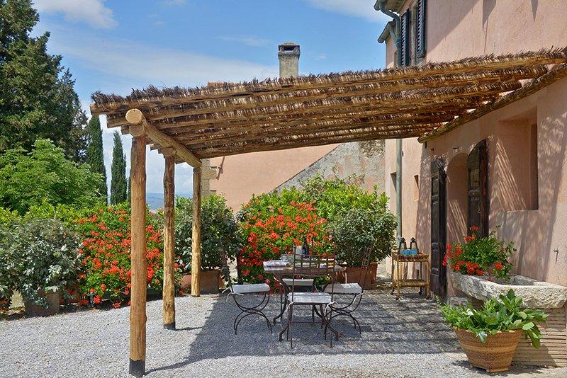 Il Cavaliere GERANIO, holiday rental in Manciano