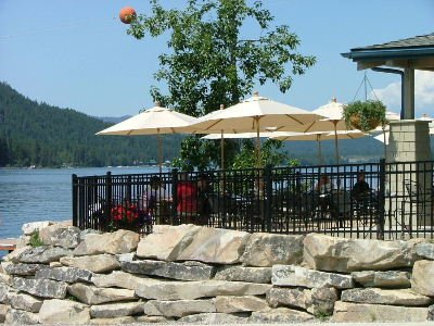 Enjoy waterfront dining by boat or car