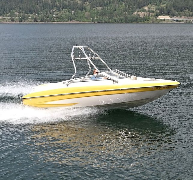 Rental boats available.