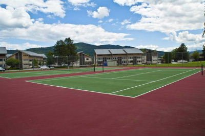 Condo del Sol tennis courts