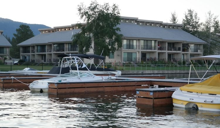 Marina with dedicated boat slip for this condo