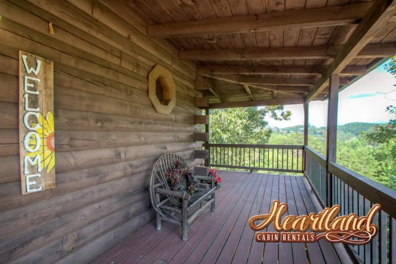 Muebles de madera del pórtico