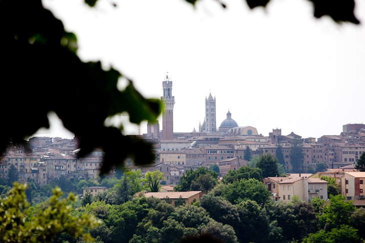 Unique villa with views of the town of Siena with its famous bell towers!, casa vacanza a Taverne d'Arbia