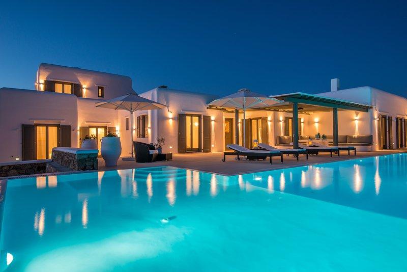 Pearl Margi Villa Mykonos Kalo Livadi, holiday rental in Kalo Livadi