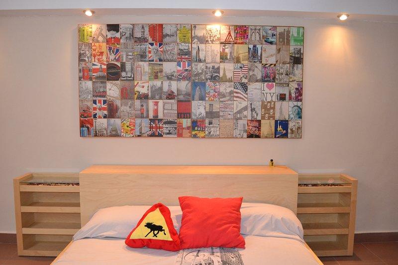 camera doppia privata nel seminterrato condiviso. 35 euro a notte. +10 Euro letti supplementari