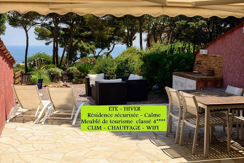 BASTIDON VUE MER 75m2 Classé 4 étoiles, vacation rental in Antheor