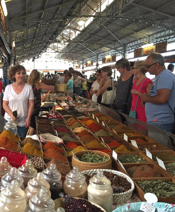 Provencal Market, spice stall