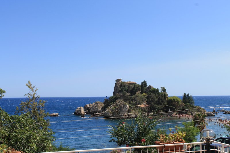 The View overlooking the wonderful IsolaBella