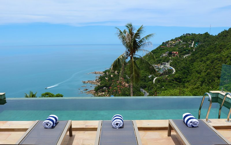 The Calvie: Luxury Sea Views and Infinity Pool, vacation rental in Chaweng