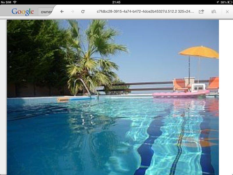Beautiful beach front villa, holiday rental in Skala