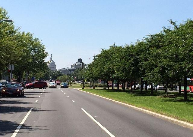 Pennsylvania Ave looking towards US Capital