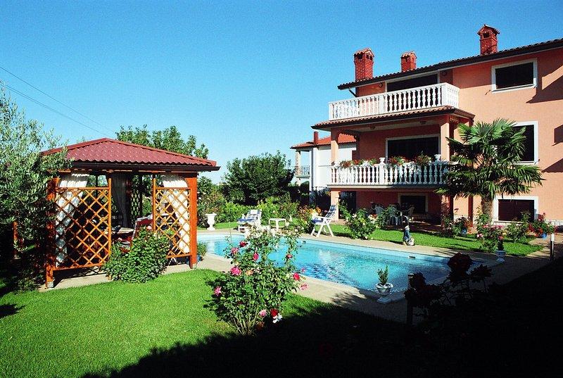 Spacious villa with swimming-pool, holiday rental in Petrovija