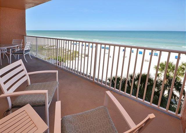 Gulf view balcony!