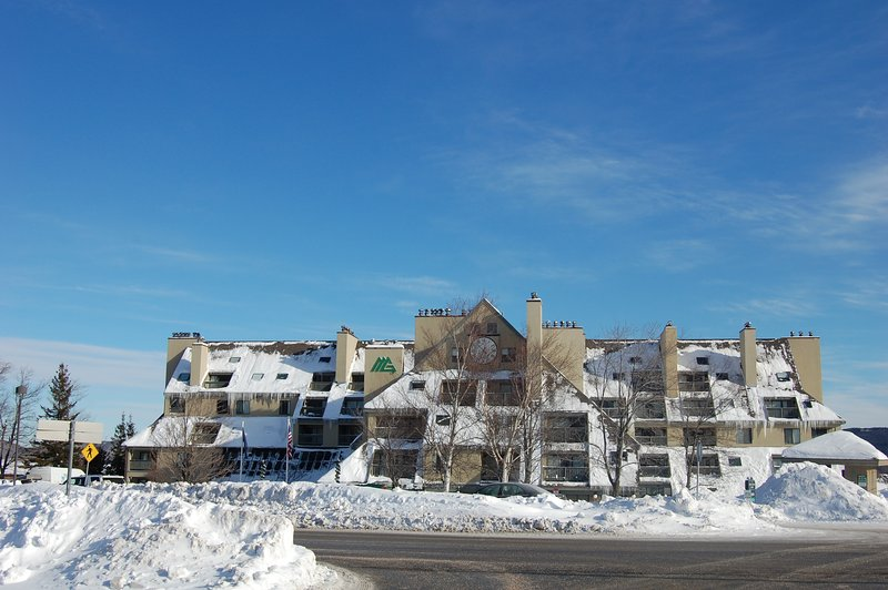 Mt. Green Resort in inverno