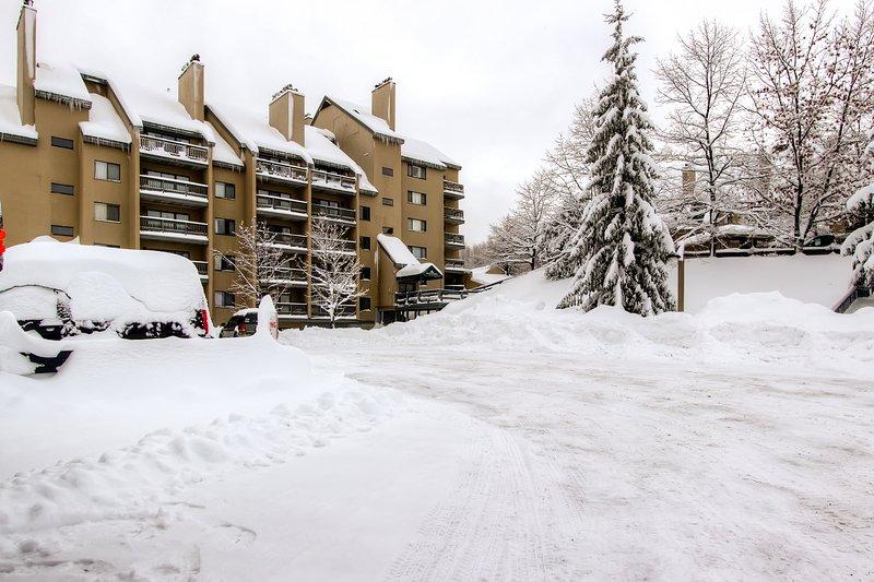 monte Green Building 1 en el invierno