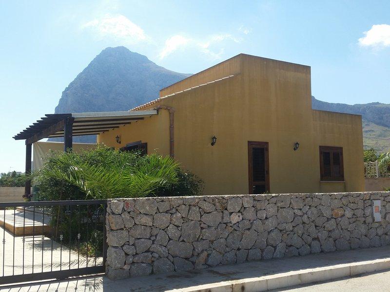 Charming chalet in san vito lo capo, location de vacances à Zarbo di Mare