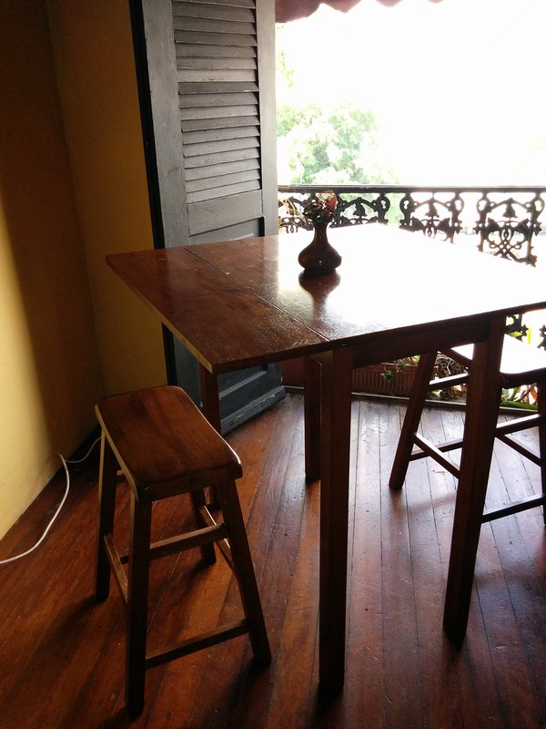 Table  in st side bedroom