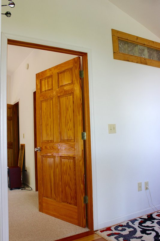 Entrance to Master from reading nook above the grand room.