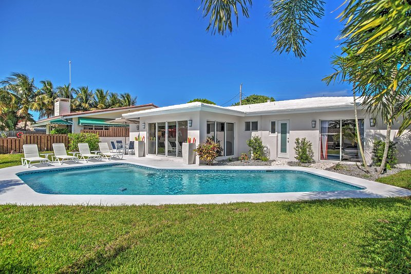 You'll be in paradise at this Wilton Manors vacation rental house!