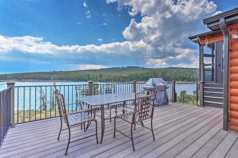 Have the trip of a lifetime at this Red Feather Lakes vacation rental house!