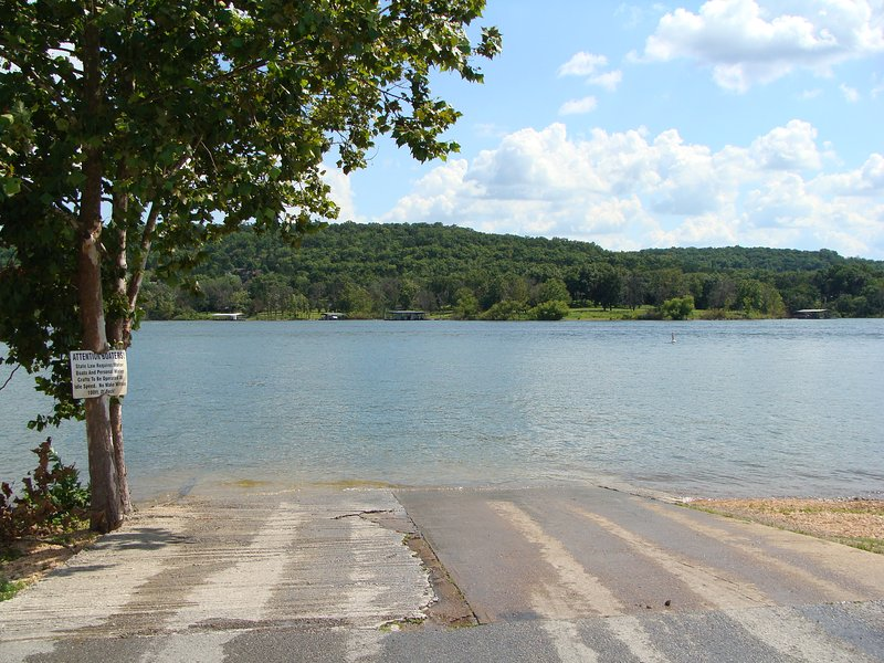 Boat launch - 1/4 mile from your home.  Boat storage 2 blocks from your home.
