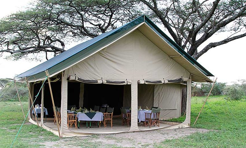 Luxurious tented camp,it will make you to spend a comfortable night and enjoying full views wild ani