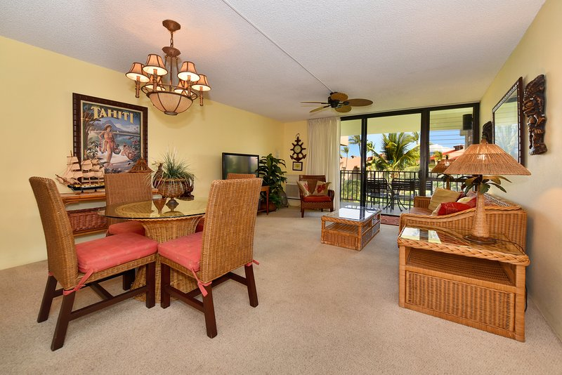 Kamaole Sands -inner court -views-Summer special$$ fill In rate, holiday rental in Kihei