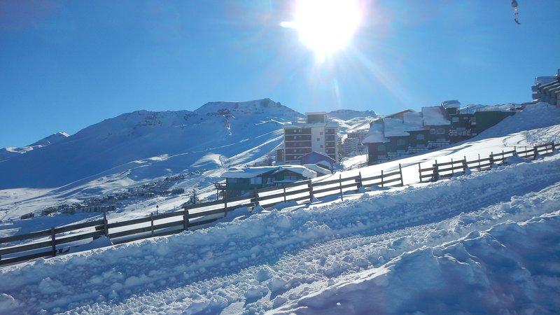 Departamento en el Centro de Esquí El Colorado 202, alquiler vacacional en Farellones
