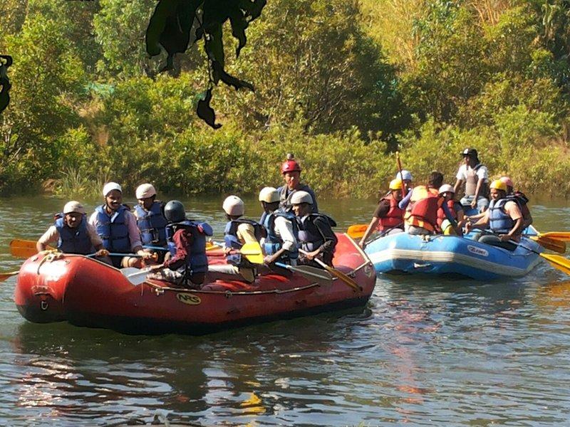 White River Water Rafting,  kundalika river At Kolad