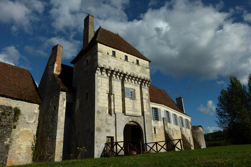Room castle-monastery Seigneurial Corroirie to Montresor / Loches in Touraine / Loire Valley