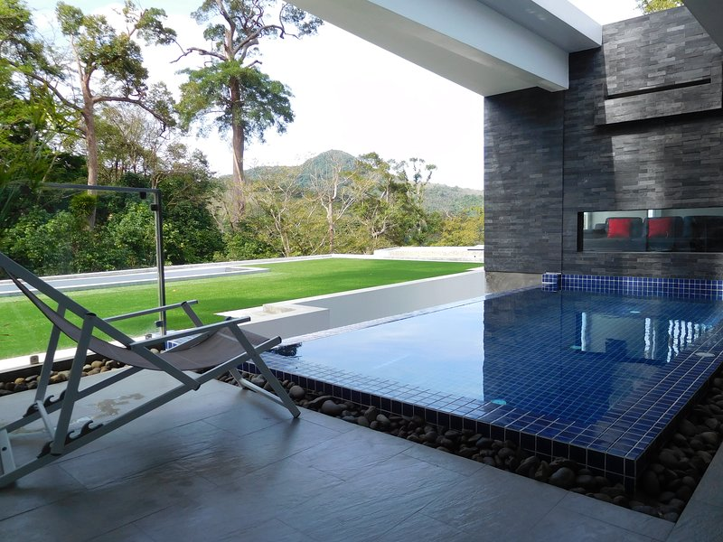 Zen Tree Pool Villa 'Mountain View', holiday rental in Kamala