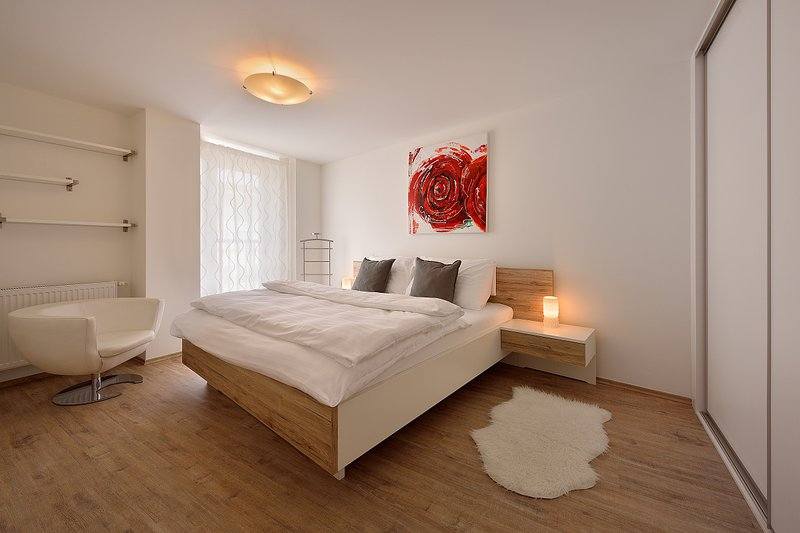 Deluxe 1 BDR apartment Suche myto 6, holiday rental in Karlova Ves