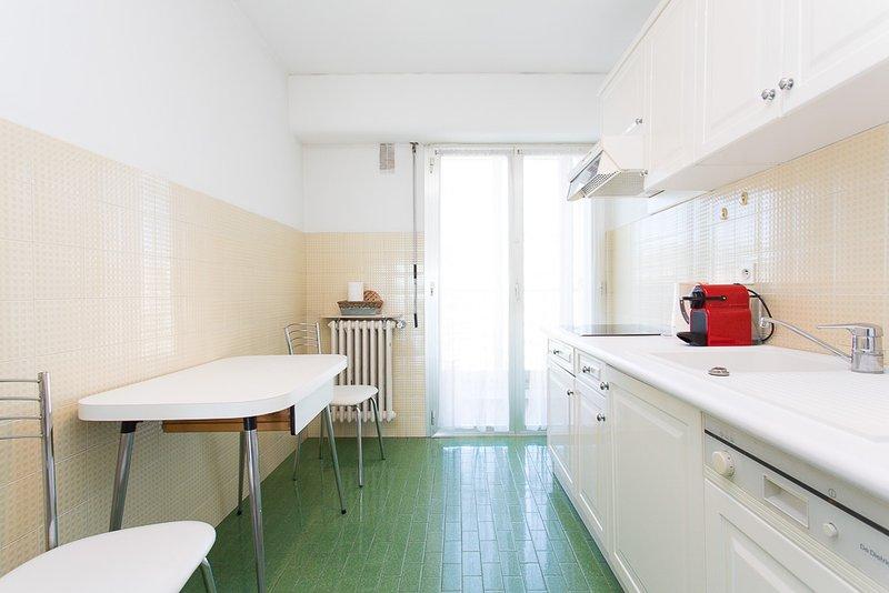 La cuisine séparée