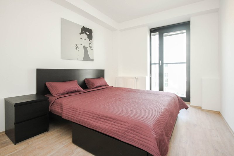 Deluxe 2 BDR apartment Suche myto 6, holiday rental in Karlova Ves