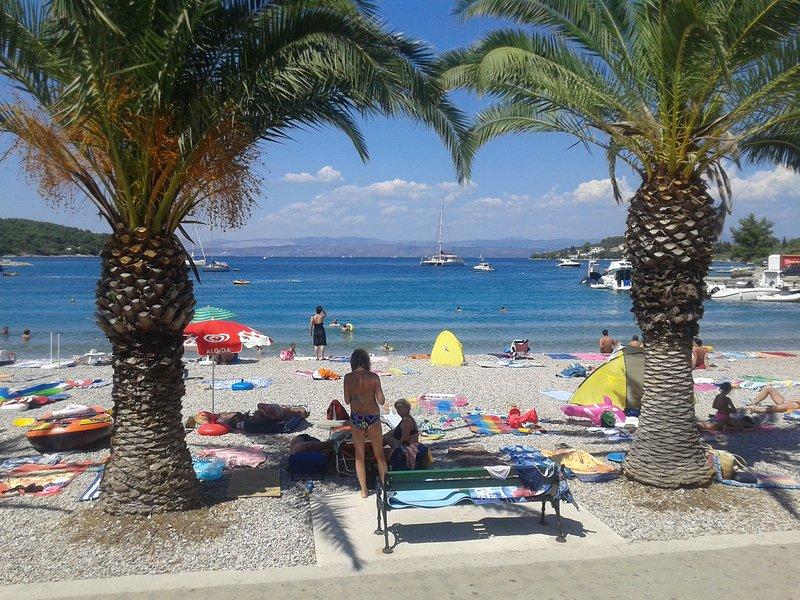 The beach Necujam